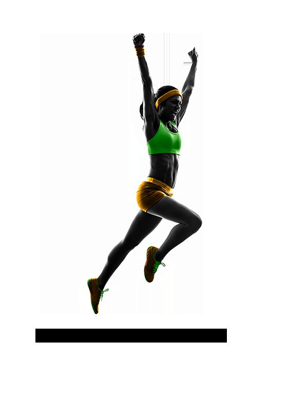 Sprinterin Sprung 2