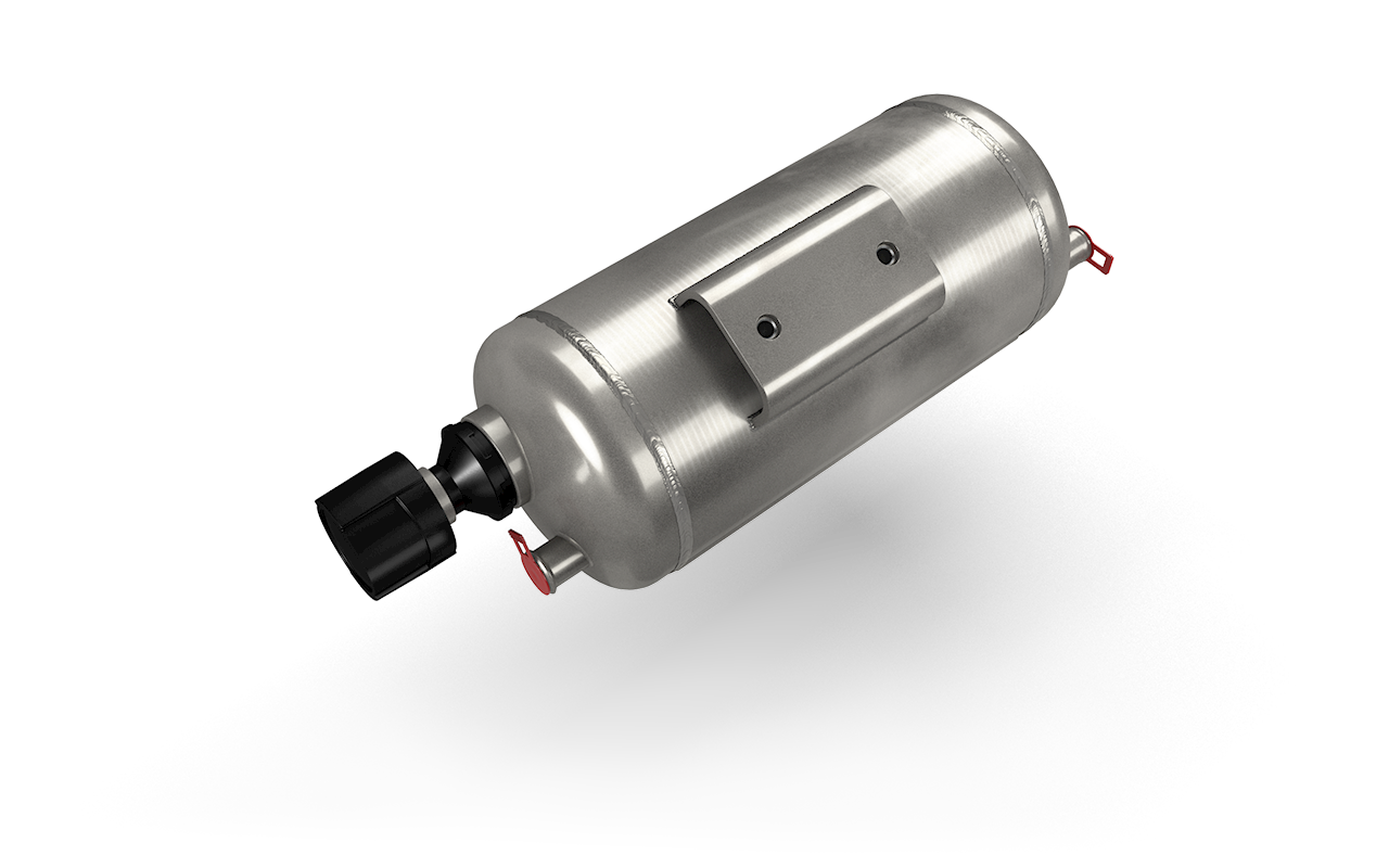 Druckluftbehälter aus Aluminium